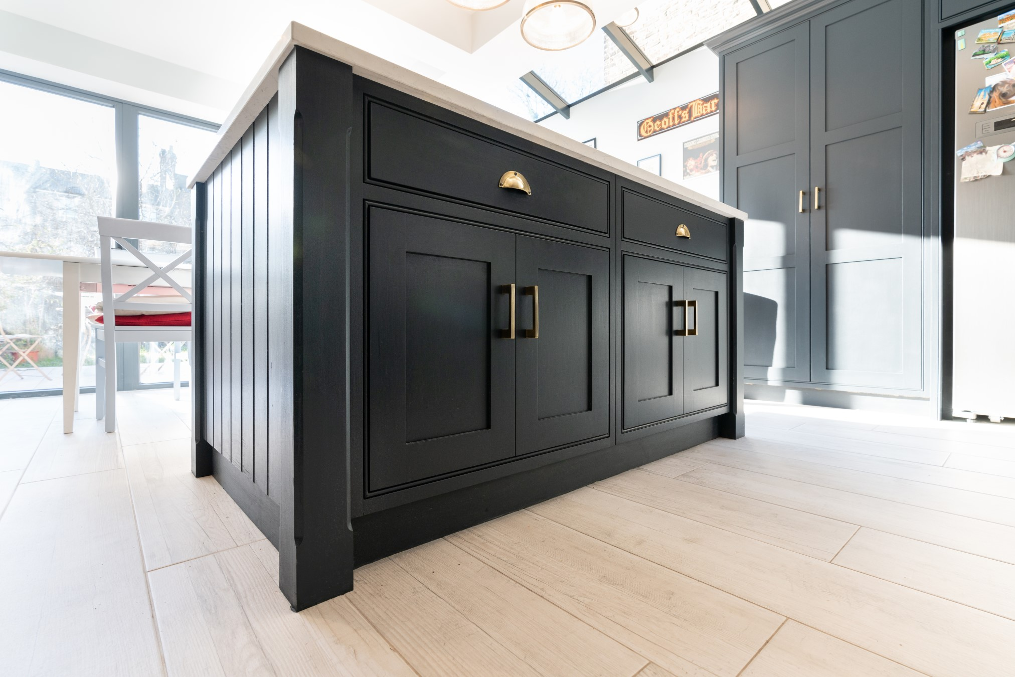 Farrow And Ball Railings Paint introducing dark colours in the kitchen from farrow & ball