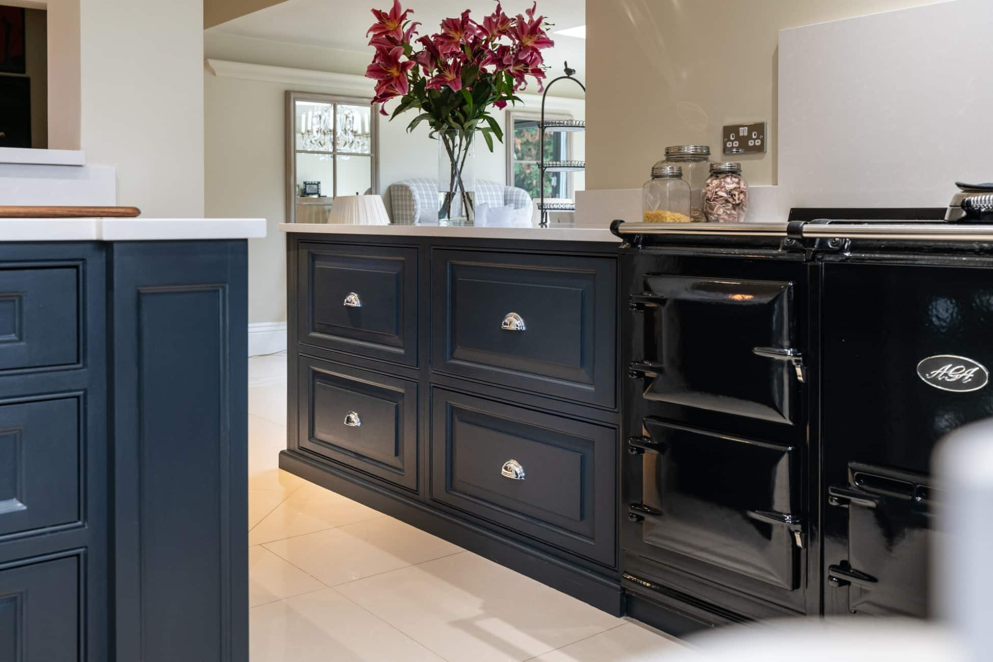 Farrow And Ball Railings Paint introducing black in the kitchen from farrow & ball