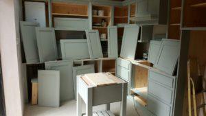 hand painting kitchen