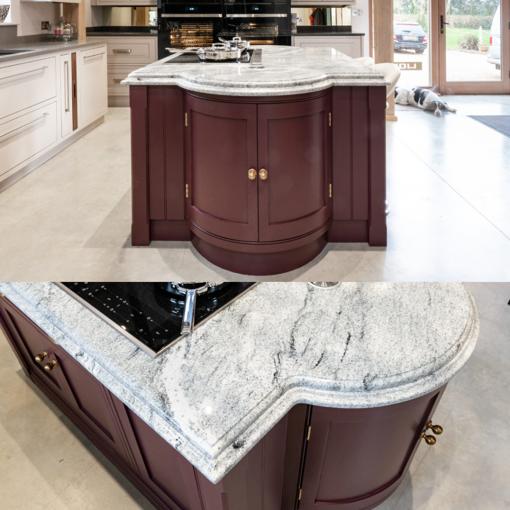 Luxury Granite Worktops Within A Handmade Kitchen Nicholas Bridger