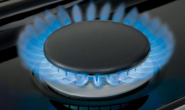 Wolf Gas Hob ring with flame