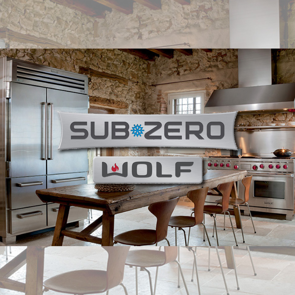 sub-zero & wolf kitchens hero image with logos