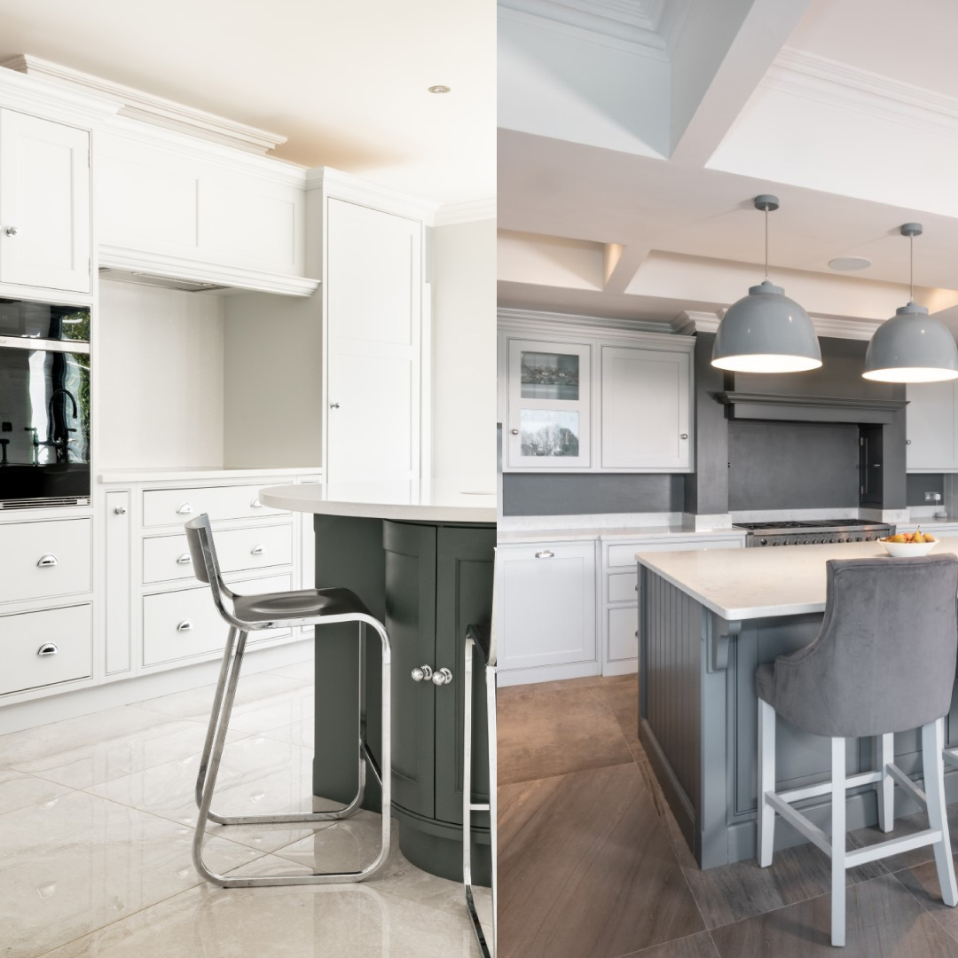 two tone kitchen inspiration blog article