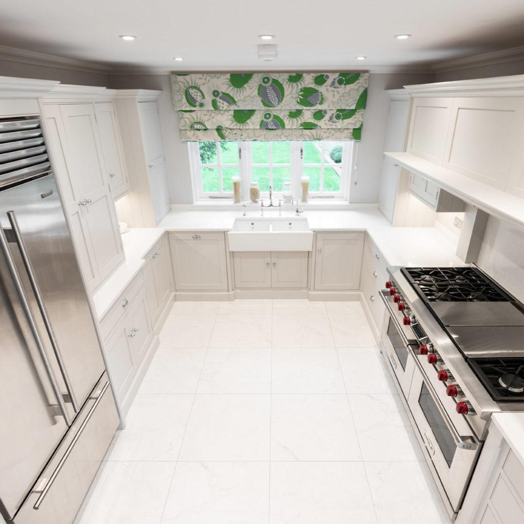 Nicholas Bridger U-Shaped Kitchens - Nicholas Bridger